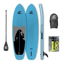 Indiana Inflatable SUP Board Family Set mit Paddel 2017