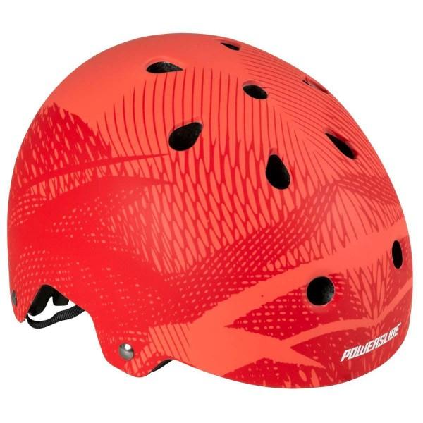 Powerslide Helmet Pro Urban Skater Helm rot