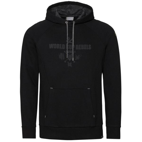 Head Race Hoddie Sweatshirt schwarz