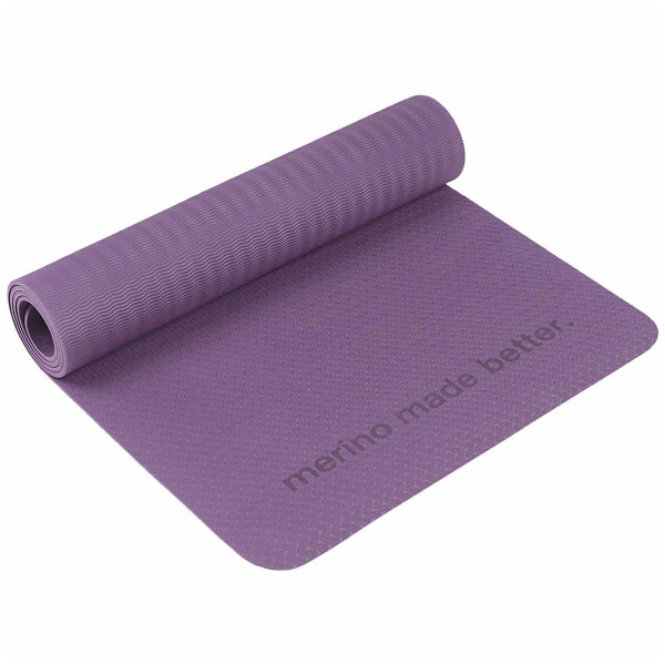 Super.Natural Yoga Mat Fitness Yogamatte purple lila