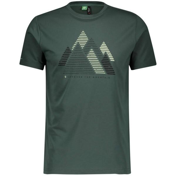 Scott Defined DRI Graphic S/SL Shirt T-Shirt grün