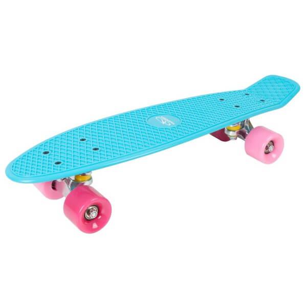 Hudora Skateboard Retro Skate Wonders türkis