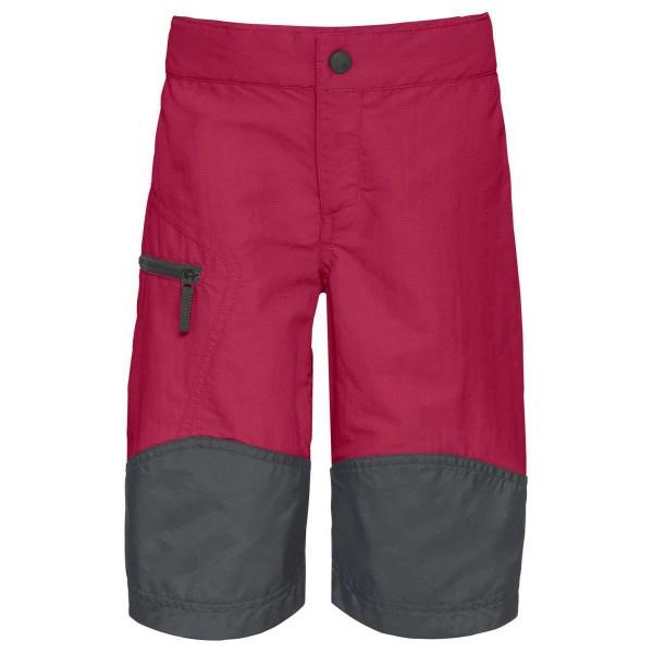 VAUDE Caprea Shorts Kinder Trekkinghose kurz rot