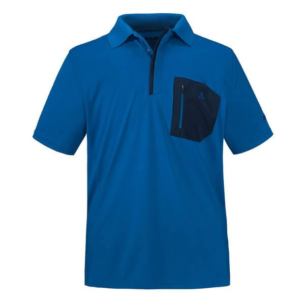 Schöffel Arizona Polo Shirt Funktionsshirt blau