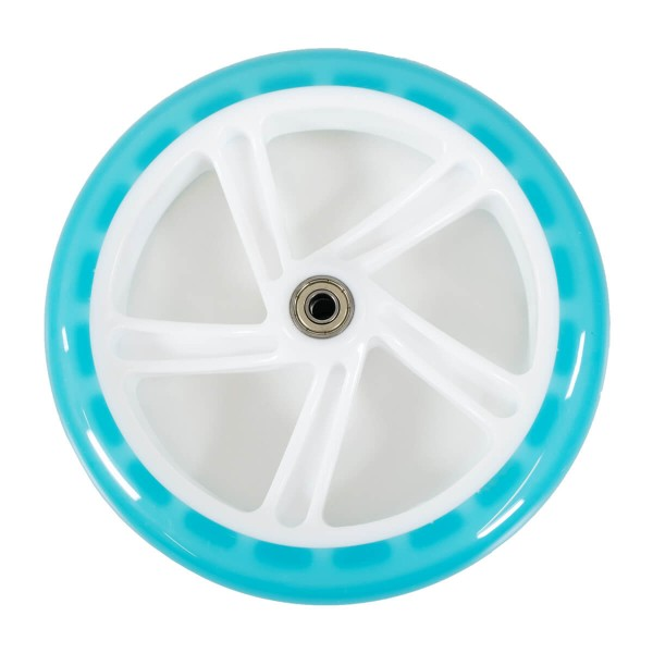 Stuf Scooter Rollen blau transparent 200 mm
