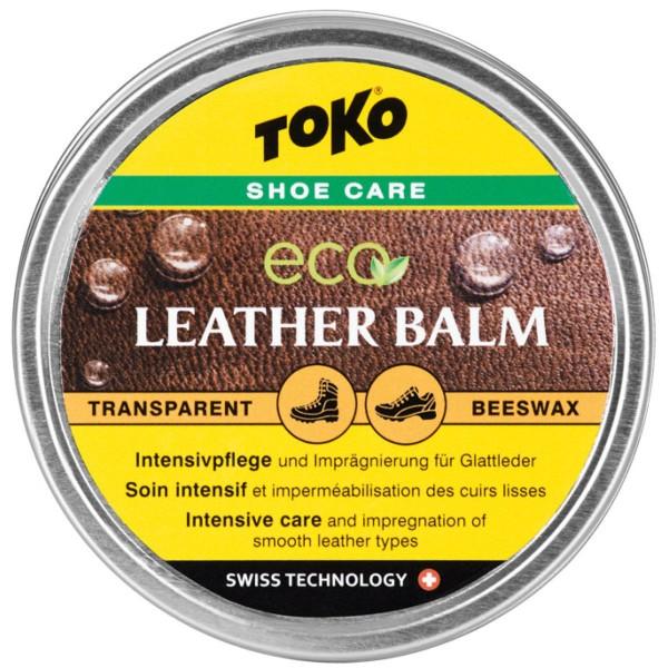 Toko Eco Leather Balm 50g Schuh Intensivpflege und Imprägnierung