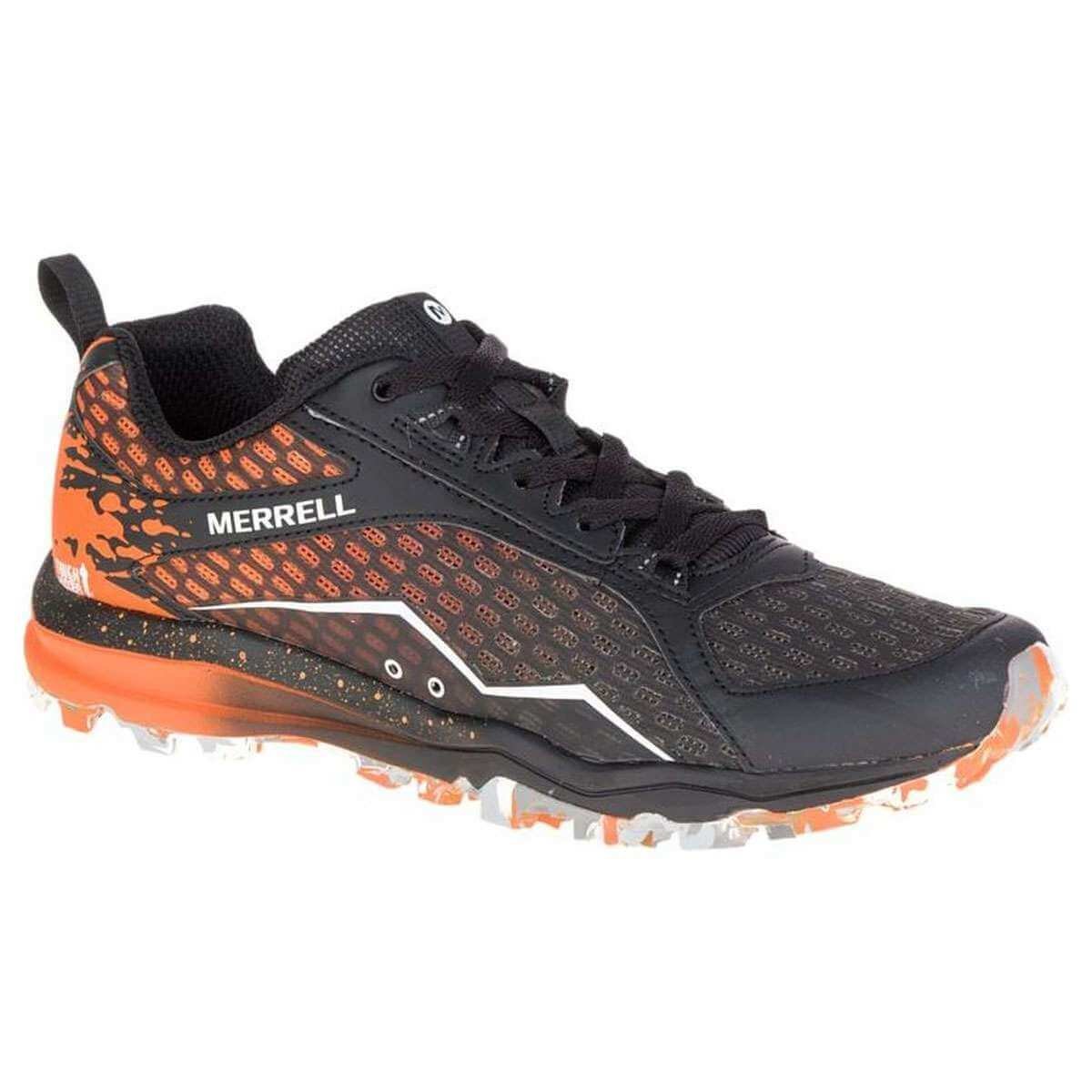 0758fab50cb94e Merrell All Out Crush Tough Mudder Trail Running Laufschuhe orange online  kaufen