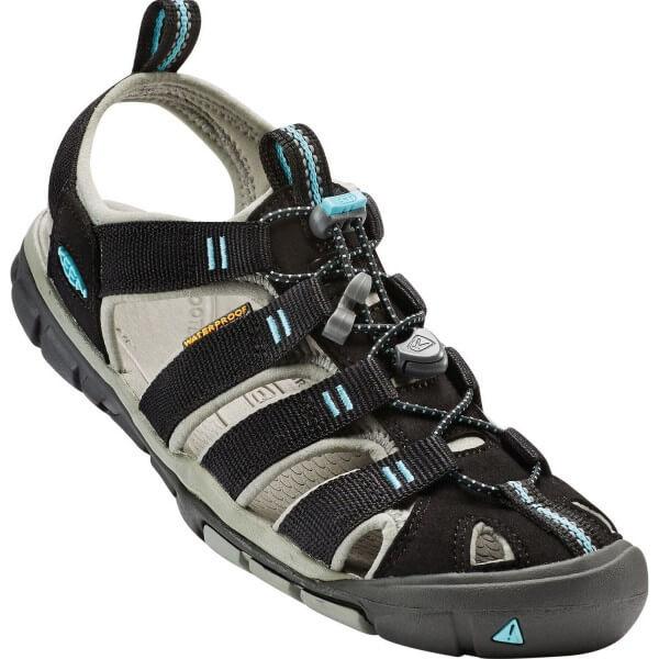 Keen Clearwater CNX Damen Sandalen schwarz