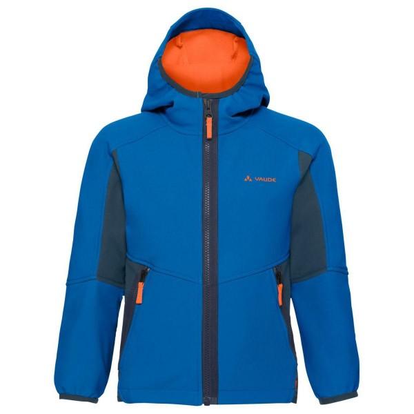 VAUDE Rondane Jacket III Kinder Softshelljacke blau