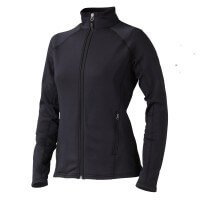 Marmot Stretch Fleece Jacket Damen Fleecejacke Größe L schwarz