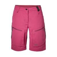 North Bend Trekk Shorts Damen Wanderhose kurz rot