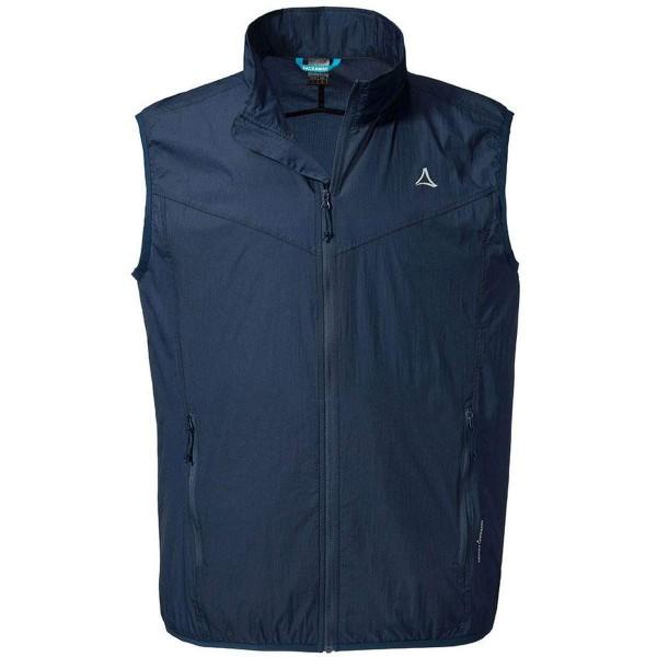 Schöffel Windbreaker Vest M1 Funktionsweste blau