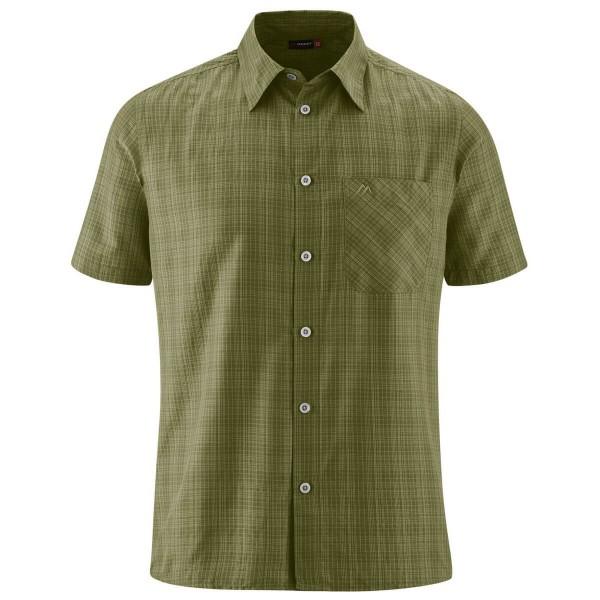 Maier Sports Freizeithemd grün