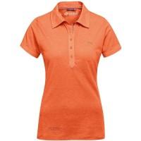 Maier Sports Clare Damen Polo Shirt orange