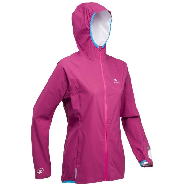 Raidlight Active MP+ Jacket Damen Regenjacke Laufjacke rot