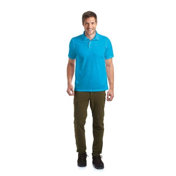 Maier Sports Ulrich Poloshirt jewel blau