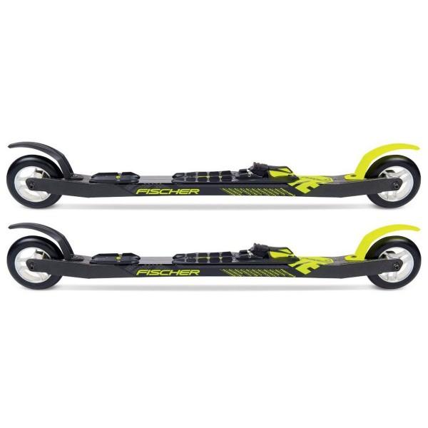 Fischer Carbonlite Skate Rollski mit Bindung schwarz