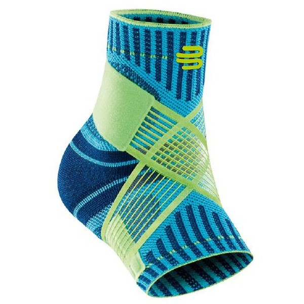Bauerfeind Sports Ankle Support Sprunggelenk Bandage links blau