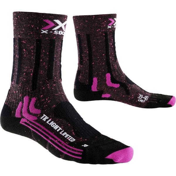 X-Socks Trekking Light Limited Lady Damen Sportsocken schwarz