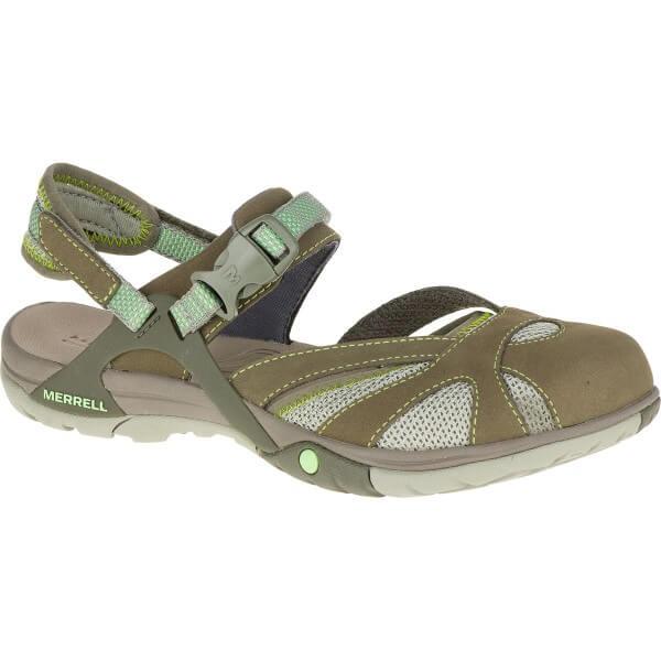 Merrell Azura Wrap Damen Sandalen grün