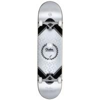 Choke Heavy Metal Skateboard Silber