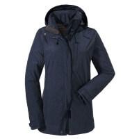 Schöffel Fontanella ZipIn Jacket Damen Funktionsjacke blau