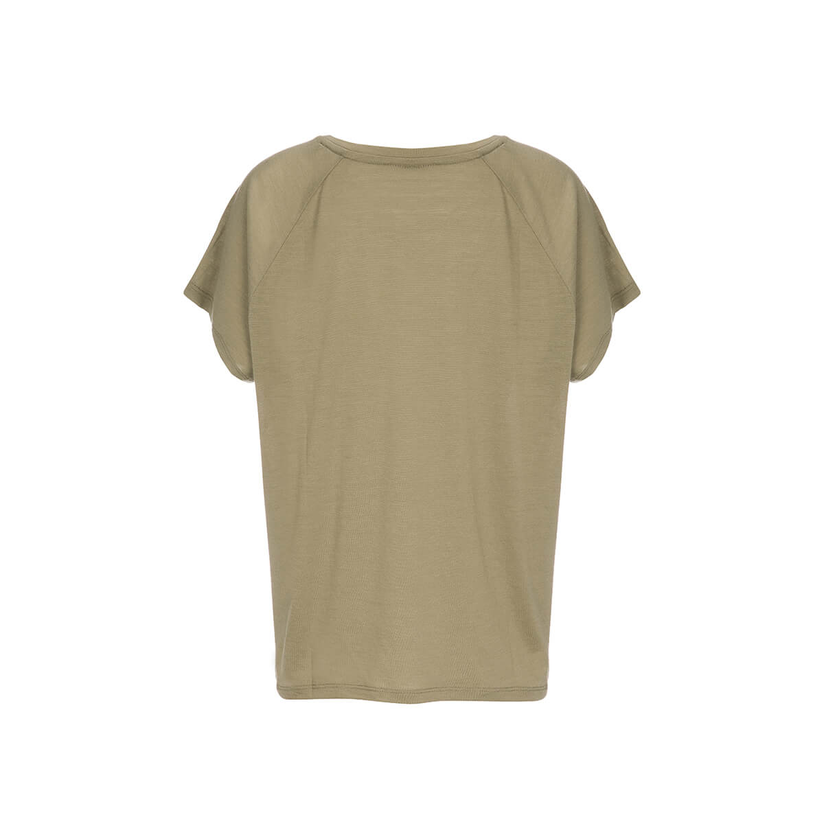 super.natural Herren Kurzarm T-Shirt M COMFORT TEE PRINTED Mit Merinowolle