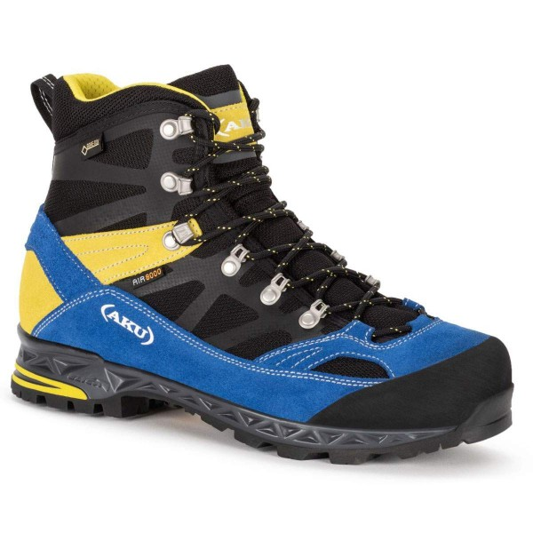 AKU Trekker Pro GTX Wanderschuhe schwarz gelb