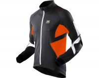 X-Bionic Biking Man Winter Spherewind Light Radjacke lang schwarz