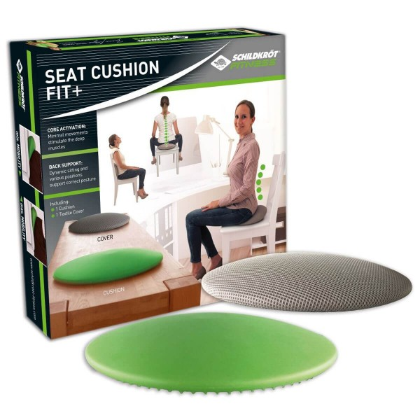 Schildkröt Fitness Seat Cushion Fit+ inkl. Bezug Handpumpe Poster
