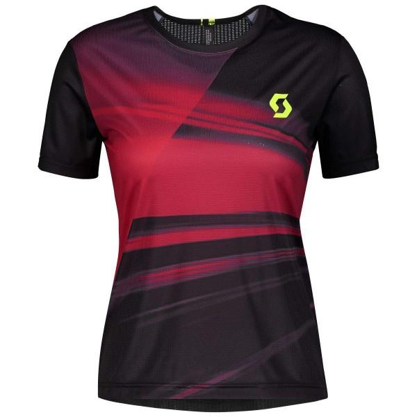 Scott RC Run Shirt Damen Funktionsshirt schwarz pink