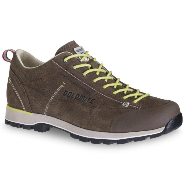 Dolomite Cinquantaquattro Low Leder Sneaker dunkelbraun