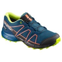 Salomon Speedcross CSWP Kinder Laufschuhe blau