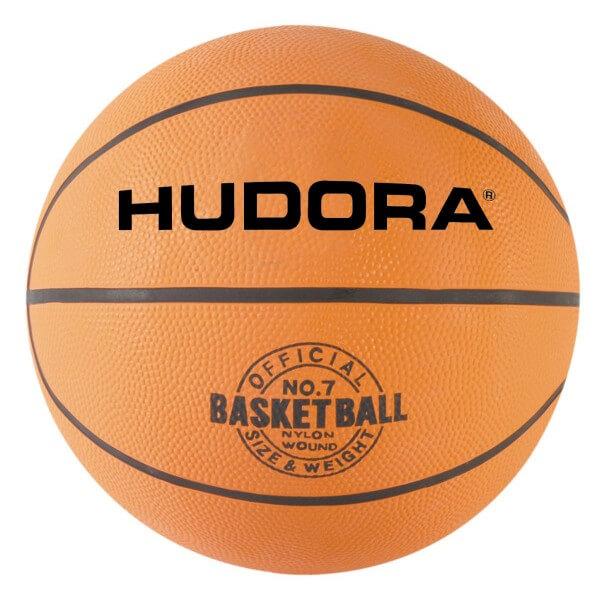 Hudora Basketball Größe 7 orange