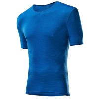 Löffler Shirt kurzarm Transtex Light Funktionswäsche blau