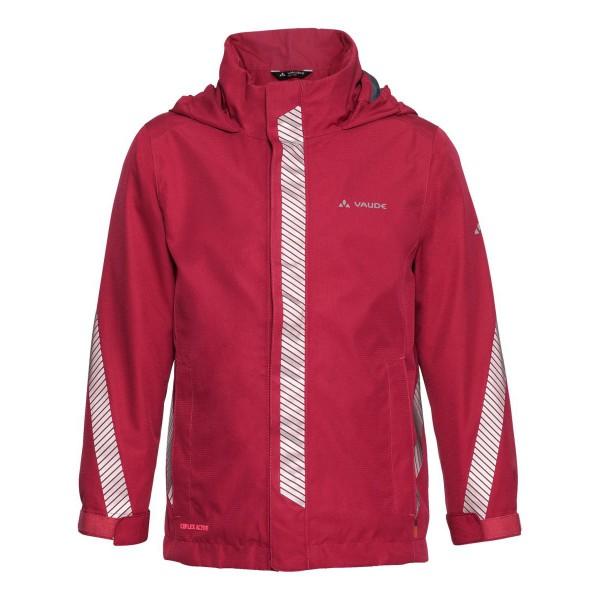 VAUDE Luminum Jacket Kinder Regenjacke rot