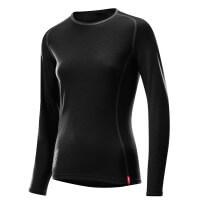 Löffler Shirt Transtex Merino langarm Damen Funktionsunterwäsche schwarz