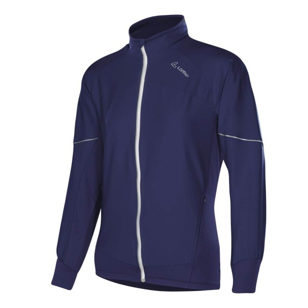 Löffler Jacket WS Superlite Womens Damen Softshelljacke dunkelblau