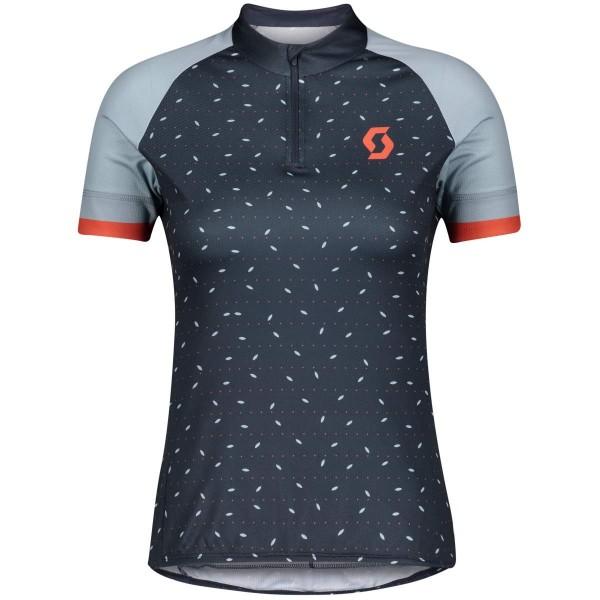 Scott Endurance 30 S/SL Shirt Damen Funktionsshirt blau