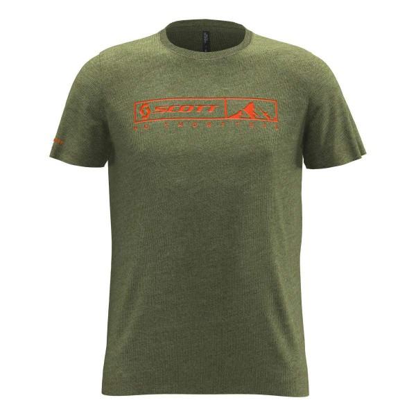 Scott 10 No Shortcuts S/SL T-Shirt grün