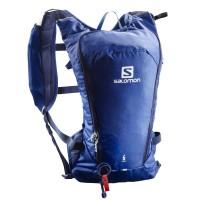 Salomon Agile 6 SET Laufrucksack blau