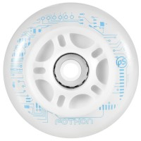 Powerslide Fothon LED Inline Skates Leuchtrollen 84mm 4 Stück Set