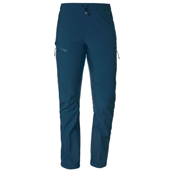 Schöffel Softshell Pants Rognon L Damen Tourenhose blau