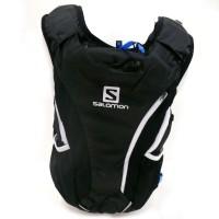 Salomon Skin Pro 10+3 Set Rucksack mit Trinkblase schwarz