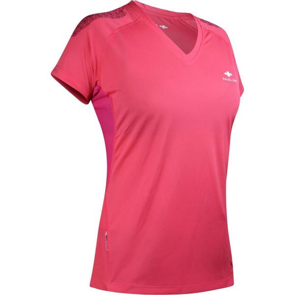 Raidlight Technical SS Top Damen Laufshirt pink