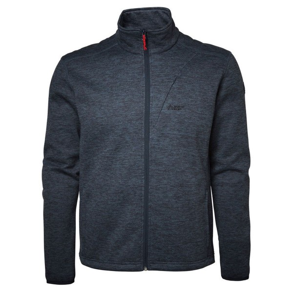 North Bend Act Knit Fleece Fleecejacke blau