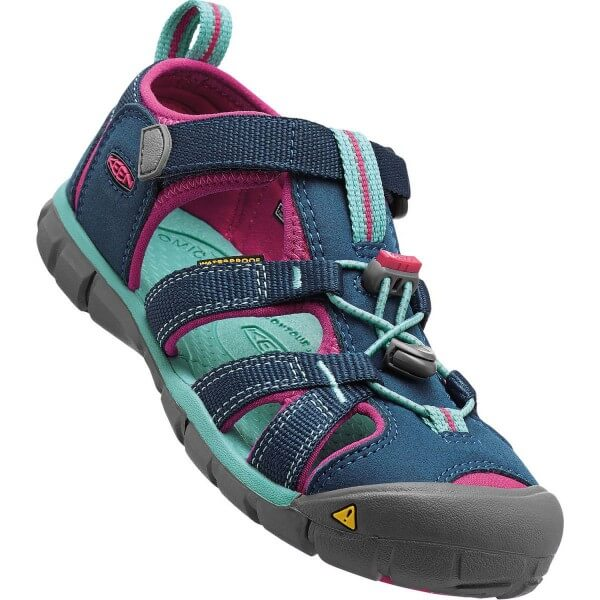 Keen Seecamp II CNX Kinder Sandalen blau pink