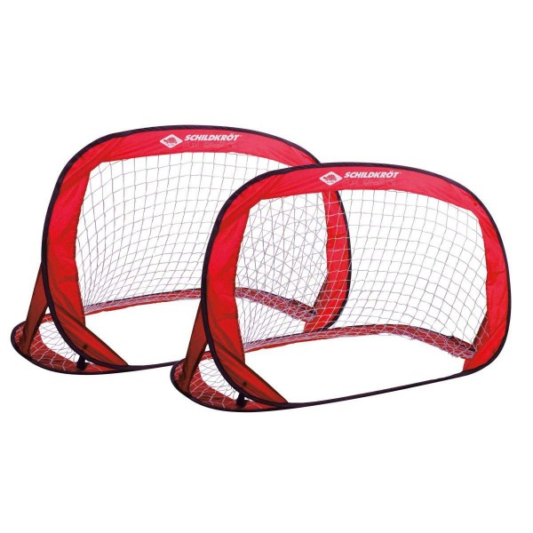 Schildkröt Pop Up Goal 2er Set Tore mit Carrybag rot