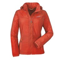 Schöffel Windbreaker Jacket L Damen Funktionsjacke orange rot