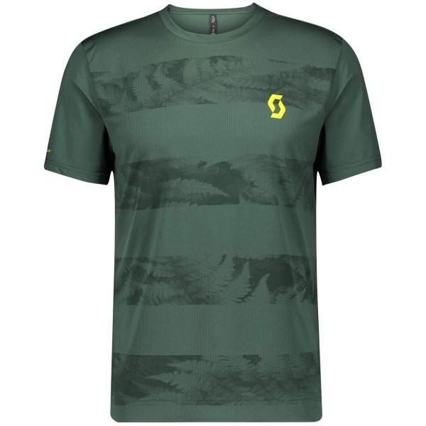 Scott Trail Flow S/SL Shirt Funktionsshirt grün